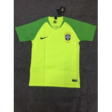 2018 World Cup Brazil Green Short Sleeve Goal Keeper Jersey ((2018世界杯巴西绿色守门服短袖))