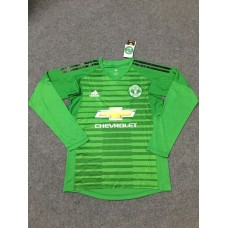 18-19 Manchester United Green Long Sleeve Goal Keeper Jersey (18-19曼联绿色守门服长袖)