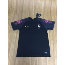 18-19 France Two Star Short Sleeve Goal Keeper Jersey (18-19法国二星守门服短袖)