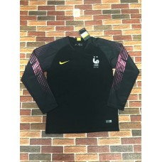 18-19 France Two Star Long Sleeve Goal Keeper Jersey (18-19法国二星守门服长袖)