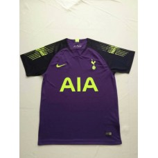 18-19 HOT Purple Short Sleeve Goal Keeper Jersey (18-19热刺蓝色守门服短袖)