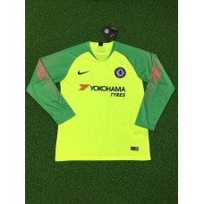 18-19 Chelsea Green Long Sleeve Goal Keeper Jersey (18-19切尔西绿色守门服长袖)