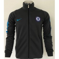 17-18 Chelsea high neck Dark Grey Jacket (17-18 切尔西高领深灰色夹克)