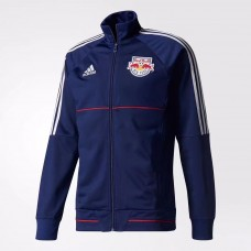 17-18 New York Red Bull Blue Jacket (17-18 纽约红牛夹克)