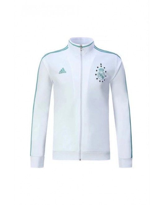 17-18 Real Madrid White Jacket (17-18 皇马白色夹克)