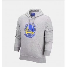17-18 Warriors Gray Hoodie (17-18 勇士灰色卫衣)
