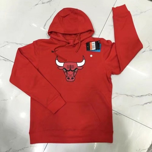 2018 Chicago Bulls Red Hoodie (公牛红色帽衫卫衣)
