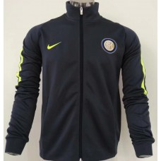 17-18 Inter Milan Gray Jacket (17-18 国米灰色夹克)