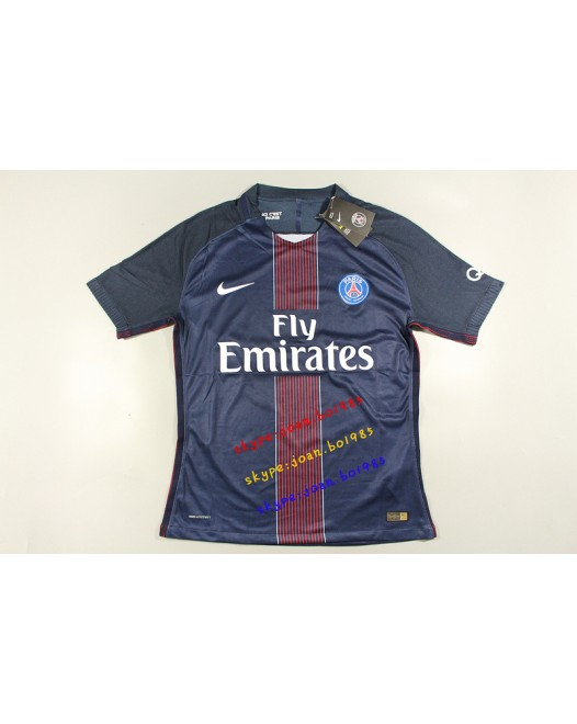 16-17 PSG Home, Player Version, Thai  Quality(16-17 巴黎主场球员泰版)