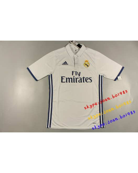16-17 Real Madrid Home Player Version 1:1 Quality(16-17皇马主场球员版1:1)