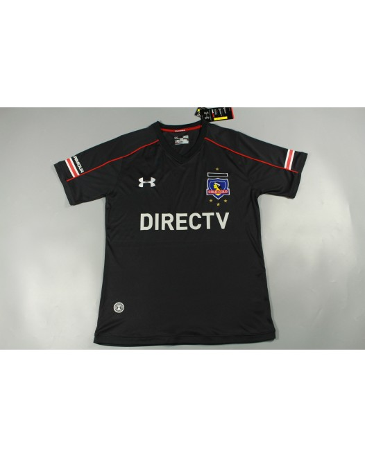 16-17 Colo Colo Away Fans Version,Thai Quality(16-17科洛科洛客场黑色球迷)