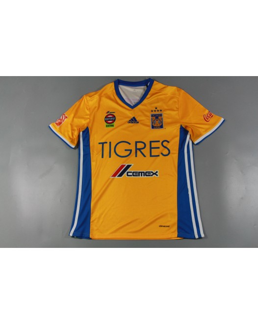 16-17 Tigres Home Fans Version(five stars),Thai Quality(16-17 老虎主场球迷5颗星)