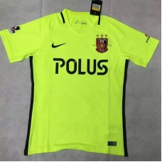 17-18 Urawa Red Diamonds Away Soccer Jersey  (17-18 浦和红宝石客场荧光球迷)