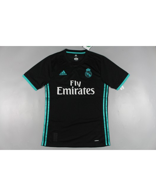 17-18 Real Madrid Black Player Version jersey 1:1 (17-18皇马黑色球员版1:1)
