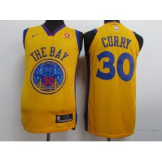 17-18 Golden State Warriors Yellow Jersey, Only 11#, 23#, 30#, 35# ( please write the number name below)