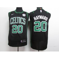 17-18 Boston Celtics Black Jersey, Only 20# ( please write the number name below)