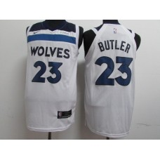 17-18 Minnesota Timberwolves White Jersey, Only 22#, 23#, 32# ( please write the number name below)