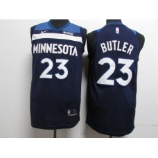 17-18 Minnesota Timberwolves Blue Jersey, Only 22#, 23#, 32# ( please write the number name below)