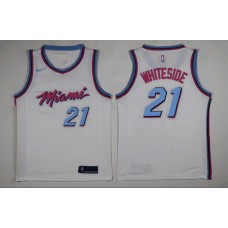 Miami Heat Whiteside jersey , Only 3#, 21# ( please write the number name below)