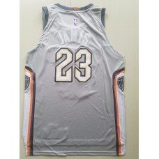 17-18 Cleveland Cavaliers Gray Jersey , Only 23#