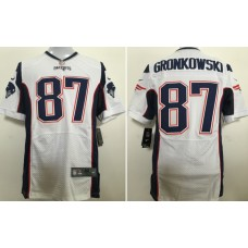2017 Patriots White Jersey, Only 11#, 12#, 87# ( please write the number name below)