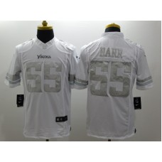 2017 Vikings White Jersey, Only 5, 10#, 55#, 84# ( please write the number name below)