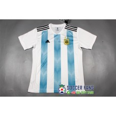 2018 World Cup Argentina Home White and Blue Jersey Fans Verison 1:1 quality (2018世界杯阿根廷主场白蓝色球迷1:1)