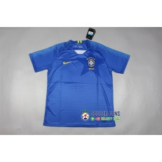 2018 World Cup Brazil Away Blue Jersey Fans Verison (2018世界杯巴西客场蓝色球迷)