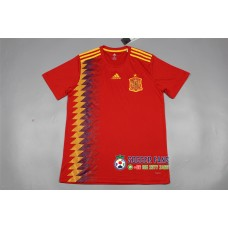 2018 World Cup Spain Home Red Jersey Fans Verison 1:1 quality (2018世界杯西班牙主场红色球迷1:1)