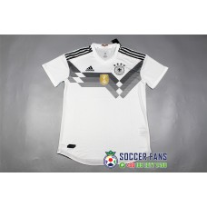 2018 World Cup Germany Home Player Version 1:1 quality (2018世界杯德国主场白色球员1:1)