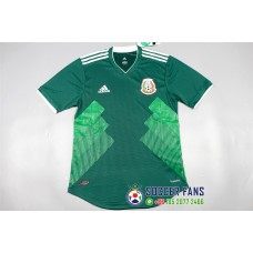 2018 World Cup Mexico Home Green Player Version 1:1 Quality (2018世界杯墨西哥主场绿色球员1:1)