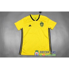 2018 World Cup Sweden Home Yellow Jersey 1:1 Quality (2018世界杯瑞典主场黄色球迷1:1)