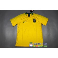 2018 World Cup Brazil Home Yellow Jersey Fans Verison (2018世界杯巴西主场黄色球迷)