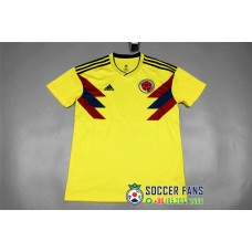 2018 World Cup Columbia Home Yellow Jersey Fans Verison 1:1 quality (2018世界杯哥伦比亚主场黄色球迷1:1)