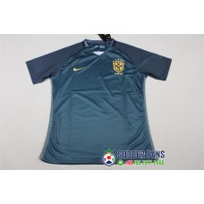 17-18 Brazil Third Dark Green Fans Verison Thai Quality (17-18 巴西二客深绿色球迷泰版)