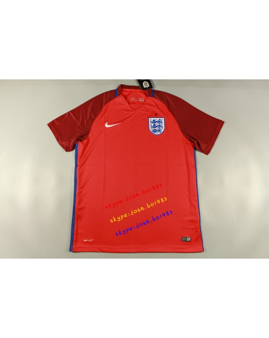 16-17 England Away, Fans Version, Thai Quality(16-17 英格兰客场球迷)