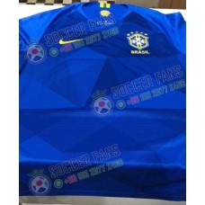 2018 World Cup Brazil Away Blue Fans Verison 1:1 Quality Presell (2018世界杯巴西客场蓝色球迷1:1预售)
