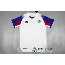 2018 World Cup Iceland Away White Fans Verison Thai Quality (2018世界杯冰岛客场白色球迷泰版)