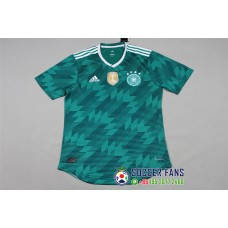 2018 World Cup Germany Away Green Player Version 1:1 Quality (2018世界杯德国客场绿色球员1:1)