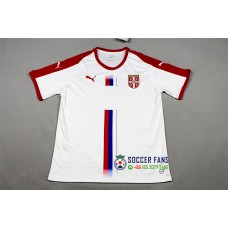 2018 World Cup Serbia Away White Fans Version Thai Quality (2018世界杯塞尔维亚客场白色球迷泰版)