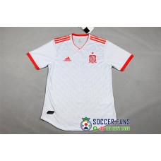 2018 World Cup Spain Away Player Version 1:1 Quality (2018世界杯西班牙客场球员1:1)