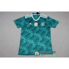 2018 World Cup Germany Away Green Fans Verison 1:1 Quality (2018世界杯德国客场绿色球迷1:1)