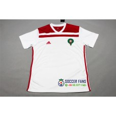 2018 World Cup Morocco Away White Fans Verison Thai Quality (2018世界杯摩洛哥客场白色球迷泰版)