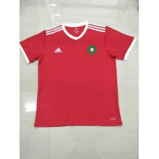 2018 World Cup Morocco Home Red Fans Verison Thai Quality (2018世界杯摩洛哥主场红色球迷泰版)