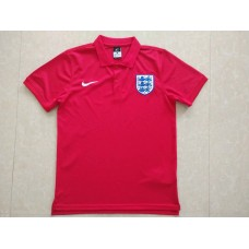 2018 World Cup England Red Mans Polo Suit (2018世界杯英格兰红色Polo)