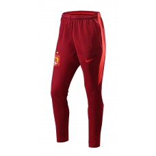17-18 Guangzhou Evergrande Pants Red color