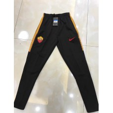 17-18 Rome Black Pants, Thai Quality (17-18 罗马黑色长裤)