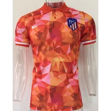 17-18 Atletico Madrid Red Man's Polo (17-18 马竞红色Polo)