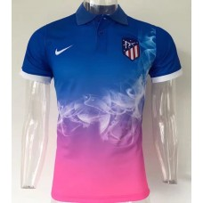 17-18 Atletico Madrid Gradient color Man's Polo (17-18 马竞渐变色Polo)