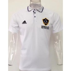 17-18 LA Galaxy White Man's Polo (17-18 银河白色Polo)
